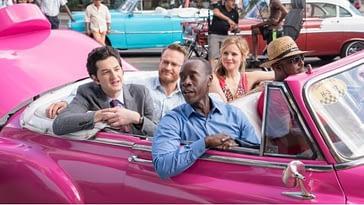 Actores de House of Lies se marchan de Cuba