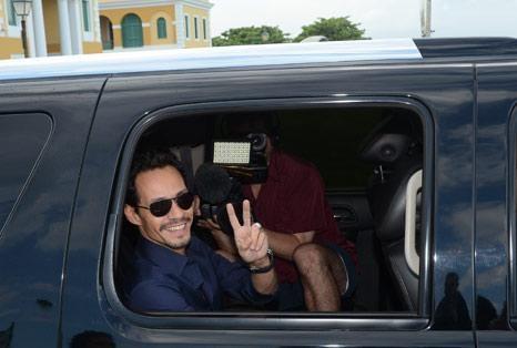 Marc Anthony en Cuba, para filmar La Gozadera con Gente de Zona