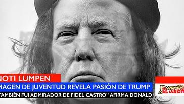 Donald Trump guarda en esta foto un parecido con un guerrillero