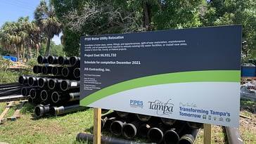 La gente en Tampa está sin water