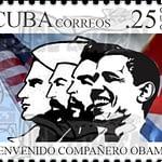 Cancelan en Cuba un sello postal por visita de Barack Obama