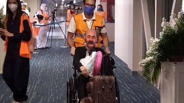 Rafael Serrano llega a Fort Lauderdale y burla a Otaola