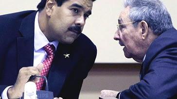 Raúl Castro conversa con Maduro para postularse presidente de Venezuela