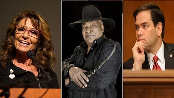 Sarah Palín y Marco Rubio tocarán en NG la Banda