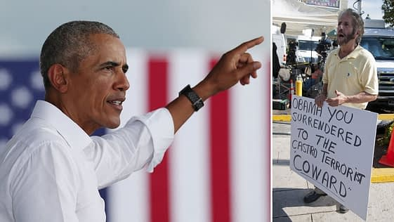 Miguel Saavedra molesto por acciones de Barack Obama