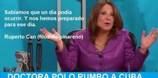 La Doctora Ana María Polo es muy querida en Cuba